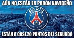 Enlace a ''Pequeña'' ventaja del PSG en la Ligue 1
