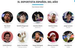 Enlace a Elección de los deportistas del año 2015. ¿Cuál es tu voto en cada categoría?