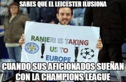 Enlace a El Leicester ilusiona y mucho