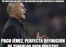 Enlace a Paco Jémez los tiene bien puestos