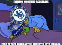 Enlace a Everton no quiero asustarte