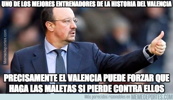 761180 - El Valencia va en contra de Benítez