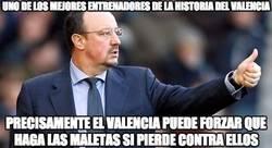 Enlace a El Valencia va en contra de Benítez