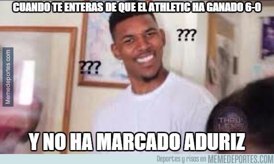 761447 - Cuando te enteras de que el Athletic ha ganado 6-0