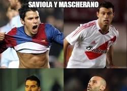Enlace a Saviola y Mascherano
