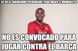 Enlace a Se va al Guangzhou Evergrande para jugar el mundialito