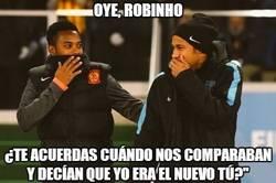 Enlace a Oye, Robinho