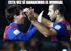 Enlace a Messi, que es el Mundialito