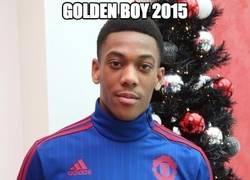 Enlace a Golden Boy 2015 para Martial