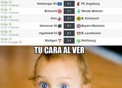 Enlace a Curiosos resultados en la Bundesliga
