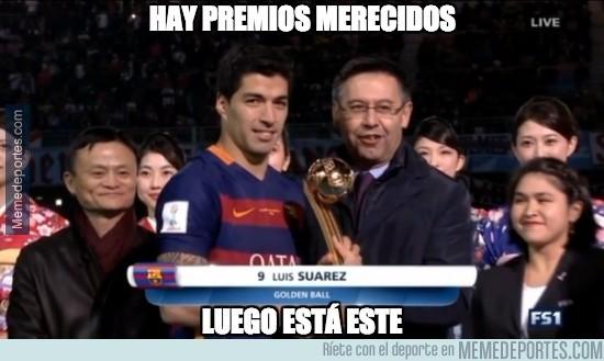 764063 - Suárez empieza a recoger los frutos