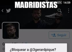 Enlace a Los madridistas ya no pueden más con los tweets de Piqué