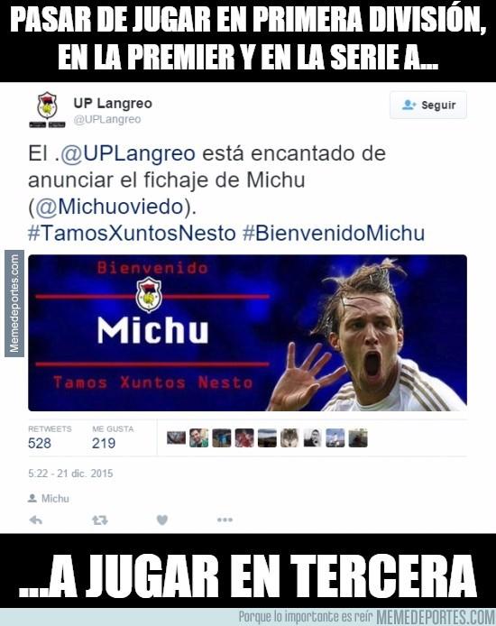 765530 - Michu, ¿qué te ha pasado?