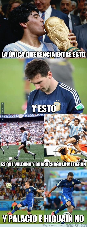 766051 - ¿Messi no es el mejor por no ganar el mundial?