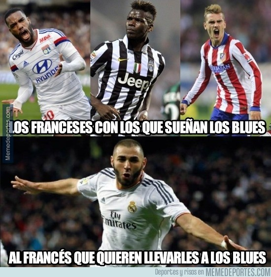 766092 - Los del Chelsea quieren a un francés, pero no precisamente ese francés
