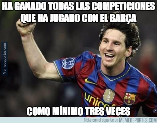766114 - Un nuevo récord para Messi