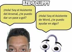 Enlace a Özil y Clippy