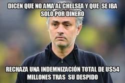 Enlace a Mourinho renuncia a 54 millones, el finiquito más grande de la historia