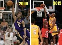 Enlace a Kobe Bryant, los años no pasan en balde