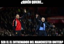 Enlace a ¿Quién quiere ser el entrenador del Manchester United?