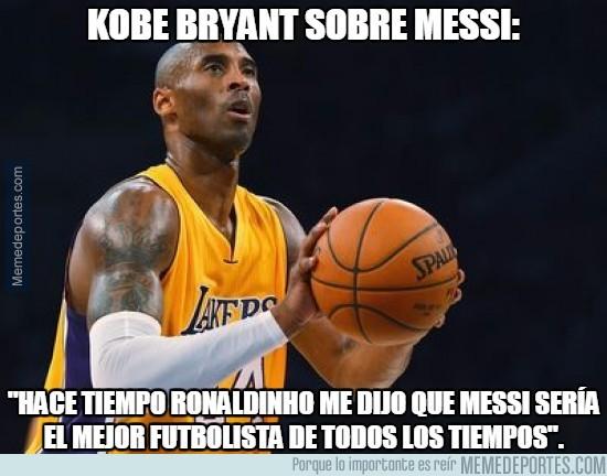 766752 - Kobe Bryant sobre Messi