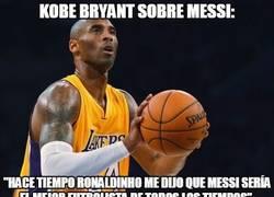 Enlace a Kobe Bryant sobre Messi