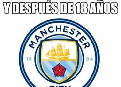 Enlace a El Manchester City tendrá nuevo escudo