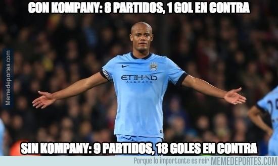 766881 - Kompany y el Manchester City