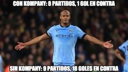 Enlace a Kompany y el Manchester City