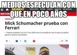 Enlace a Diversas reacciones que genera la idea de un nuevo Schumacher