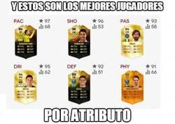 Enlace a Los mejores jugadores del FIFA por atributo