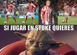 Enlace a Si jugar en Stoke quieres...