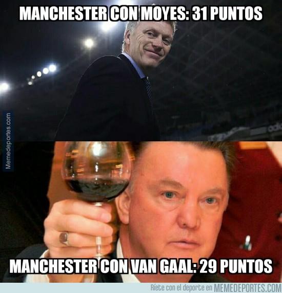 767751 - Lord Moyes dueño y señor del Boxing Day con el Manchester United