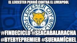 Enlace a Todo se derrumbó para el Leicester