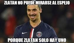 Enlace a Zlatan no puede mirarse al espejo