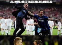 Enlace a La amistad en el fútbol