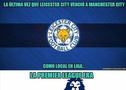 Enlace a Unos datos del Leicester vs Manchester City