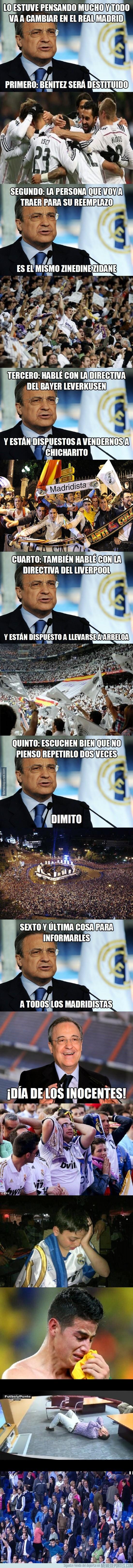 768601 - Florentino Perez anuncia cambios importantes en el Real Madrid
