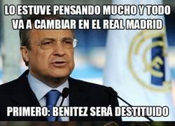 Enlace a Florentino Perez anuncia cambios importantes en el Real Madrid