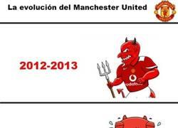 Enlace a La evolución del Manchester United