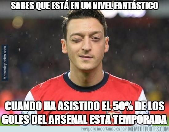 769166 - El Arsenal juega al ritmo de Özil