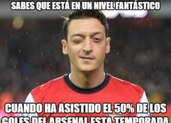 Enlace a El Arsenal juega al ritmo de Özil