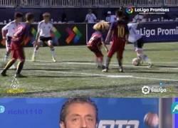 Enlace a El Barcelona amañó el torneo La Liga Promises