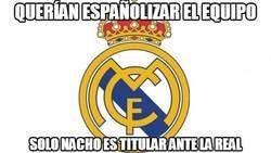 Enlace a Querían españolizar el equipo