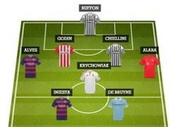 Enlace a El XI IDEAL con los mejores jugadores del 2015 según France Football