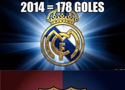 Enlace a El récord de goles en un año natural que se lleva el Barça