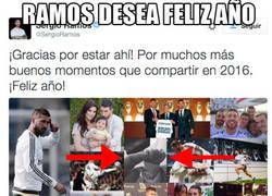 Enlace a Sergio Ramos lo ha vuelto a hacer, ahora con el hijo de Messi