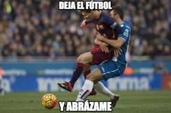 Enlace a Momento de amor en el Espanyol-Barça
