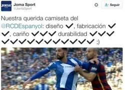 Enlace a El patrocinador del Espanyol se lo toma con humor