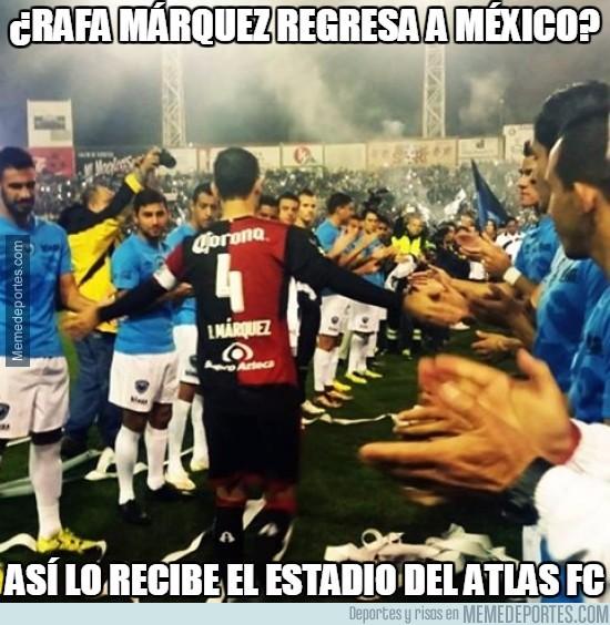773203 - Rafa Márquez tiene el respeto de todos